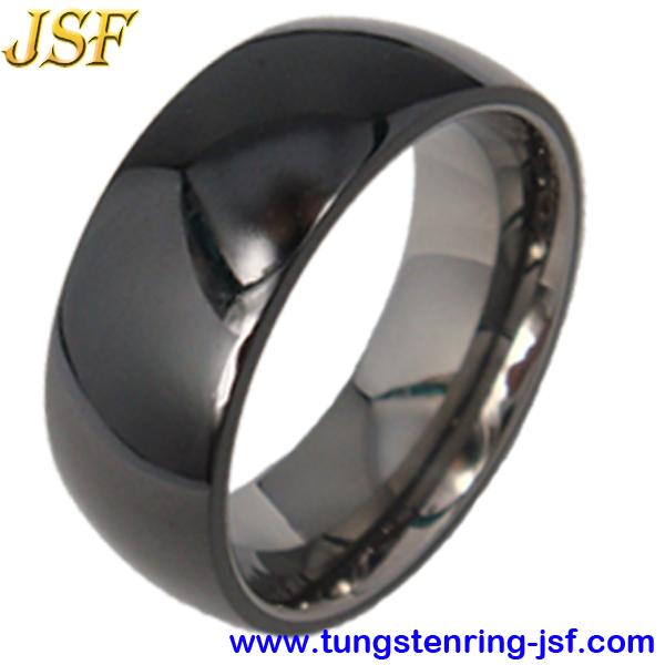 Black Ceramic Ring Tungsten Rings